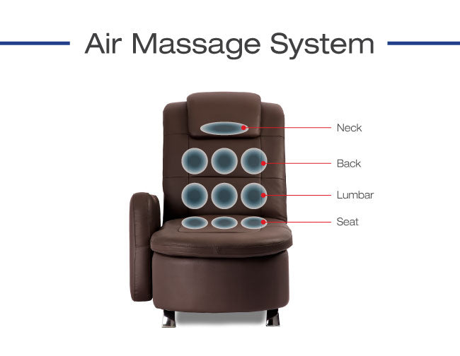 Apex Galaxy Sofa Bed Air Massage System