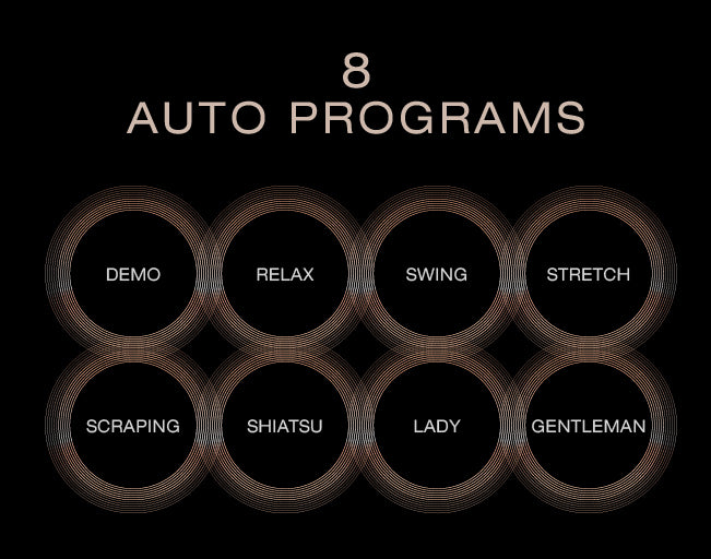 Osaki Pro Maestro Massage Chair - 8 Auto Programs