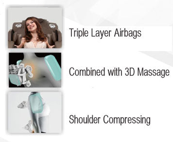 Apex Harmony Triple Layer Airbags Combined With 3D Massage