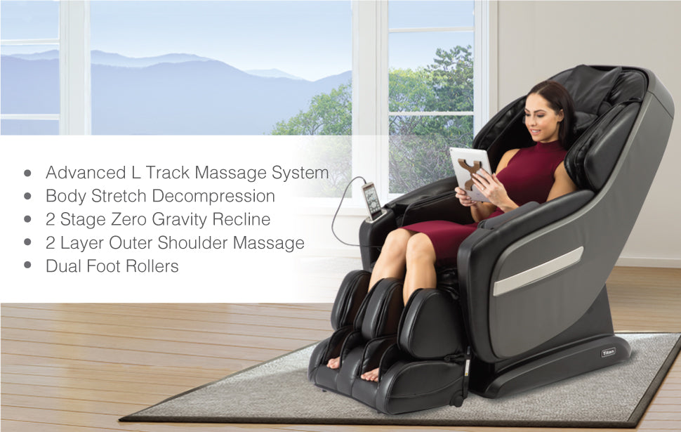 Titan Pro Summit Massage Chair Features