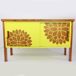 Rimu Side Board in Sunflower Yellow