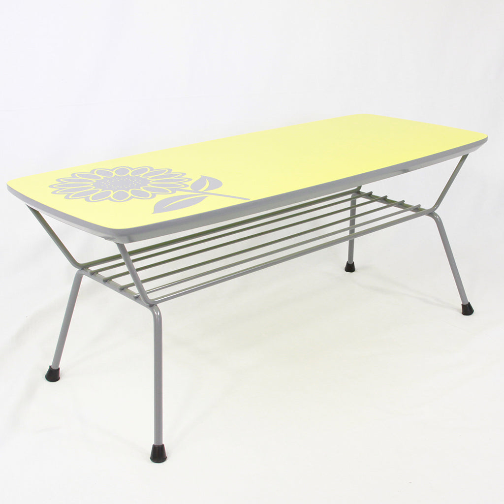 Sunflower Yellow Coffee Table