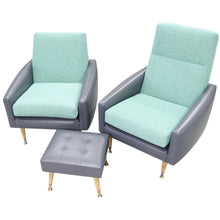 Load image into Gallery viewer, Lounge Suite 5 Seater with Foot Stool