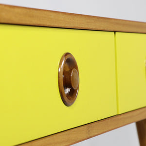 Rimu Side Table Yellow
