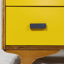 Load image into Gallery viewer, Six Drawer Lowboy Yellow