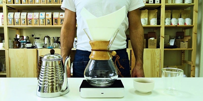 Chemex-Method of preparation