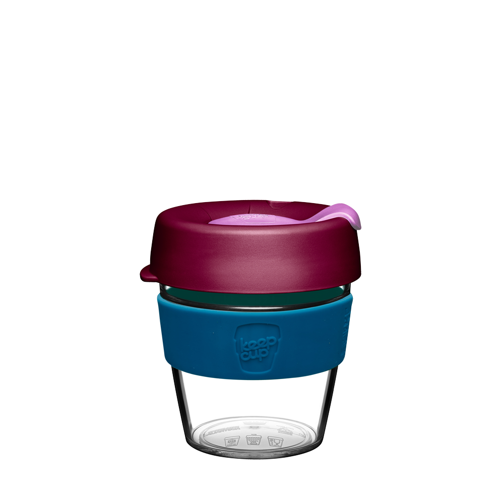Чаша KeepCup Original - Clear Edition - Twinkle (227 мл) LIMITED EDITION