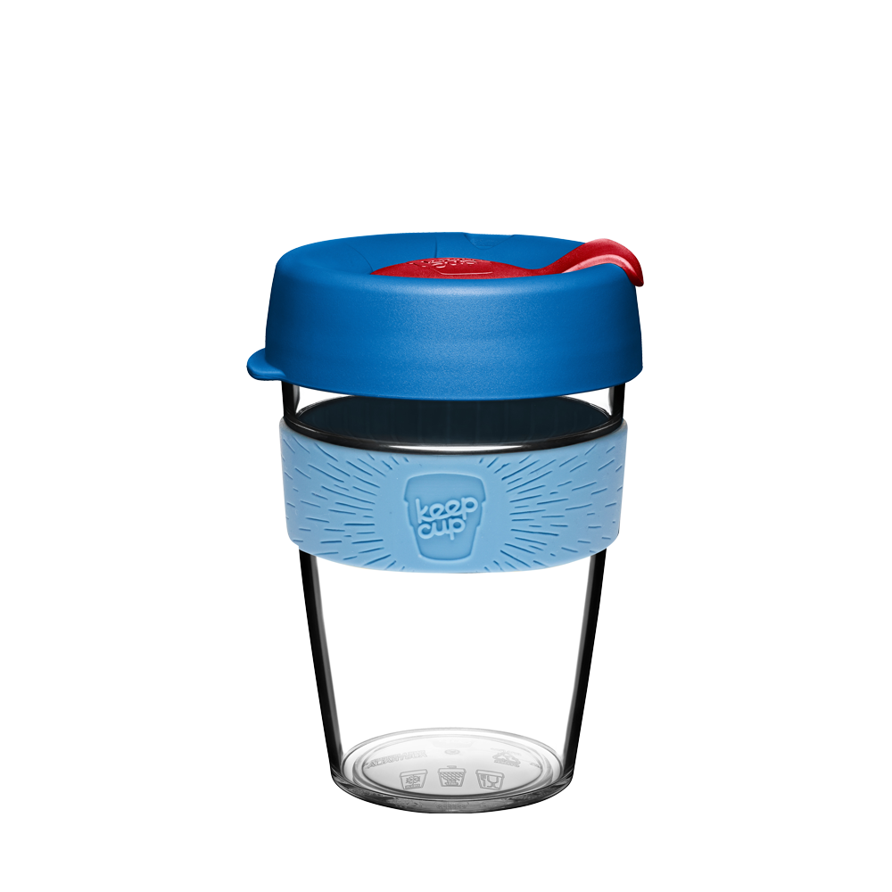 Чаша KeepCup Original - Clear Edition - Jet (340 мл) LIMITED EDITION