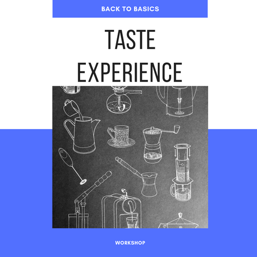 Back to Basics: Taste experience