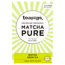 Load image into Gallery viewer, Premium Matcha green tea, 14 sachets