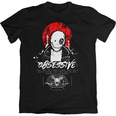 OBSESSIVE GRAPHIC TEE