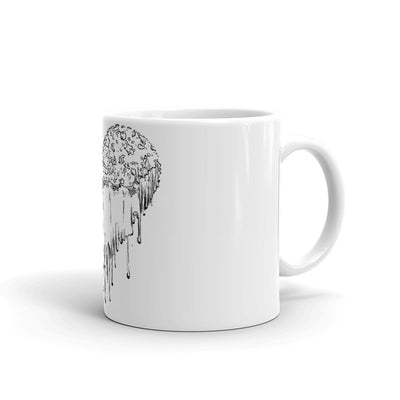 esoteric heart coffee mug