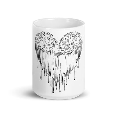 grimy heart coffee mug