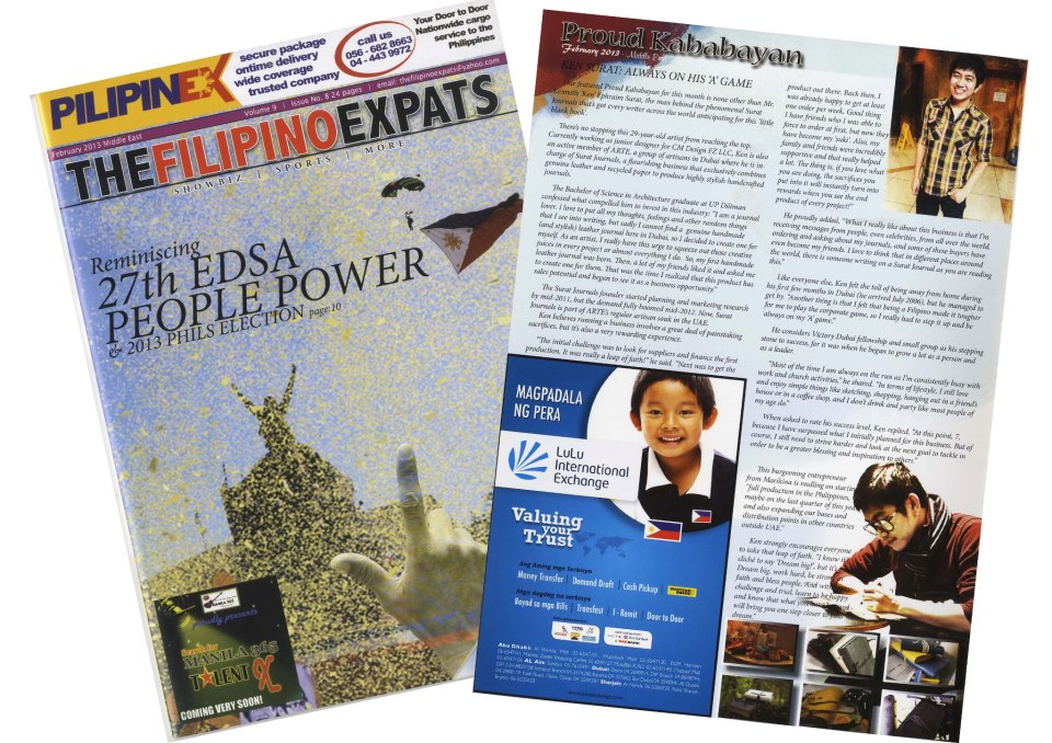 The Filipino Expats Surat Journals Dubau UAE