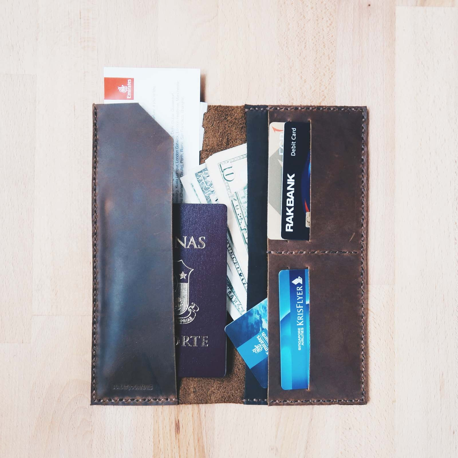 Bi-fold Travel Wallet