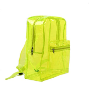 DUSUN Transparent Clear PVC Backpack