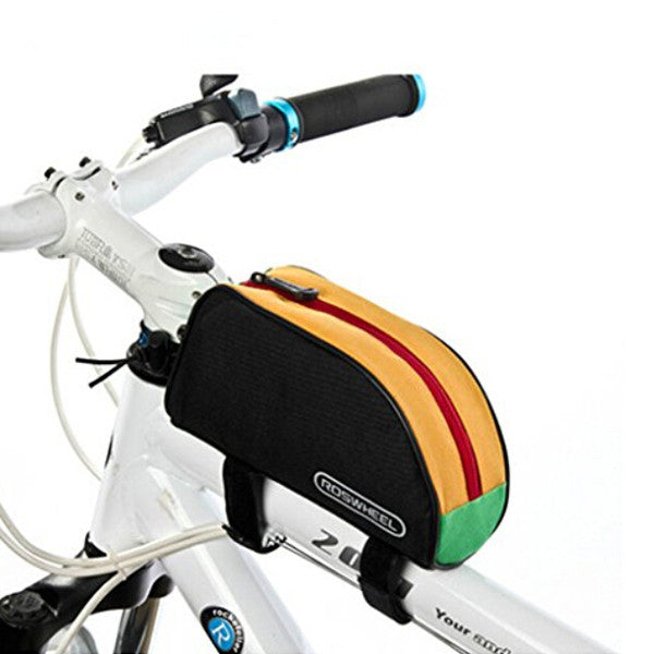 Roswheel Outdoor Road Bike Mountain Bike MTB Bicycle Cycling Frame Front Top Tube Bag Bike Pouch