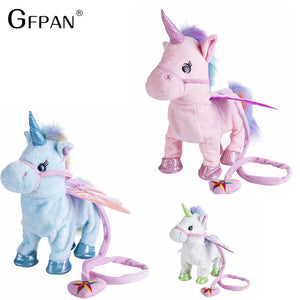 Funny Toys 1pc Electric Walking Unicorn