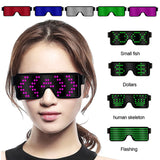 Multifunction Cool LED Glasses Nightclub Party