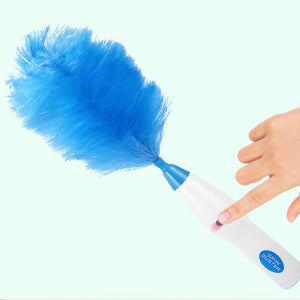 Multifunctional Electric Feather Duster Dust Cleaning Brush