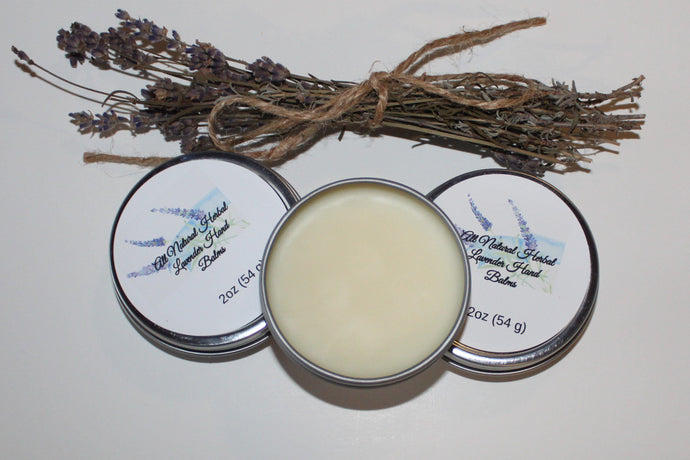 Herbal Lavender Hand Balm balms Luv N Mountain Soaps by Vera