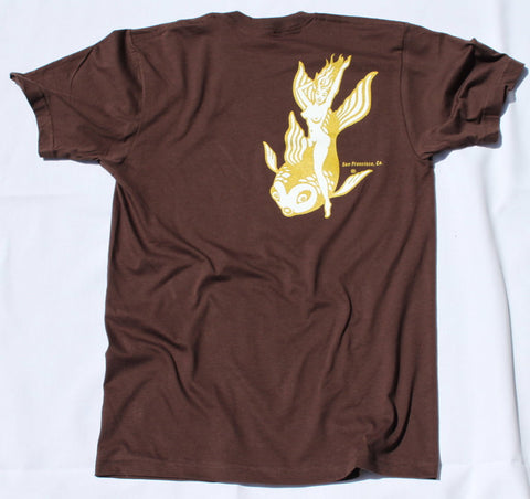 Brown Dolphina T-Shirt