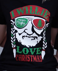 I Willie Love Christmas Tee