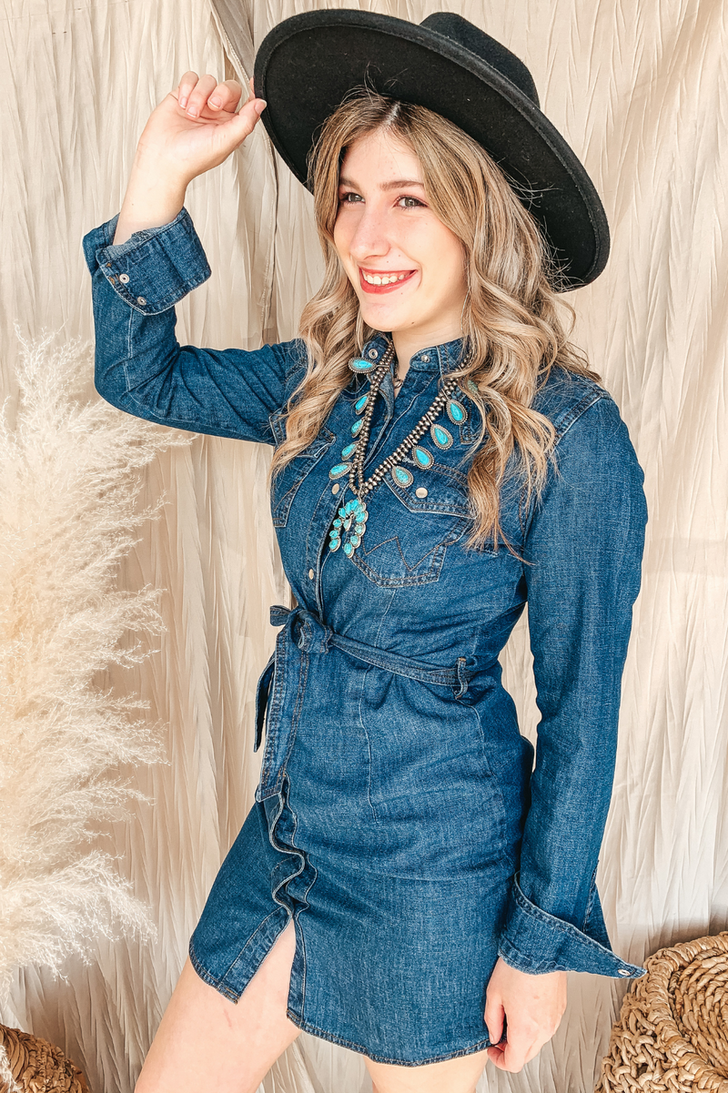 Darlin' Denim Dress