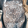 Dream On Dreamer Bleached Pullover
