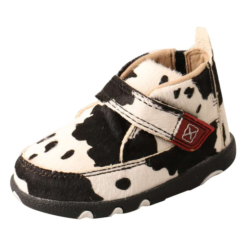 Girls Infant Cowhide Driving Moc