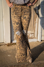 Leopard Denim With A Little Sparkle Jeans