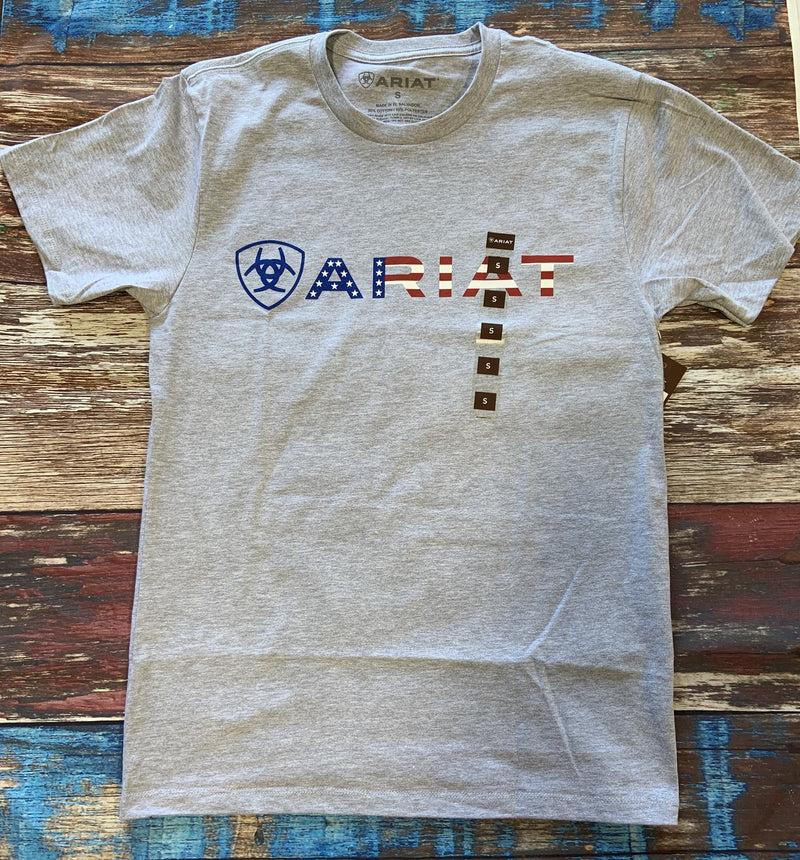 Ariat USA Wordmark T-Shirt