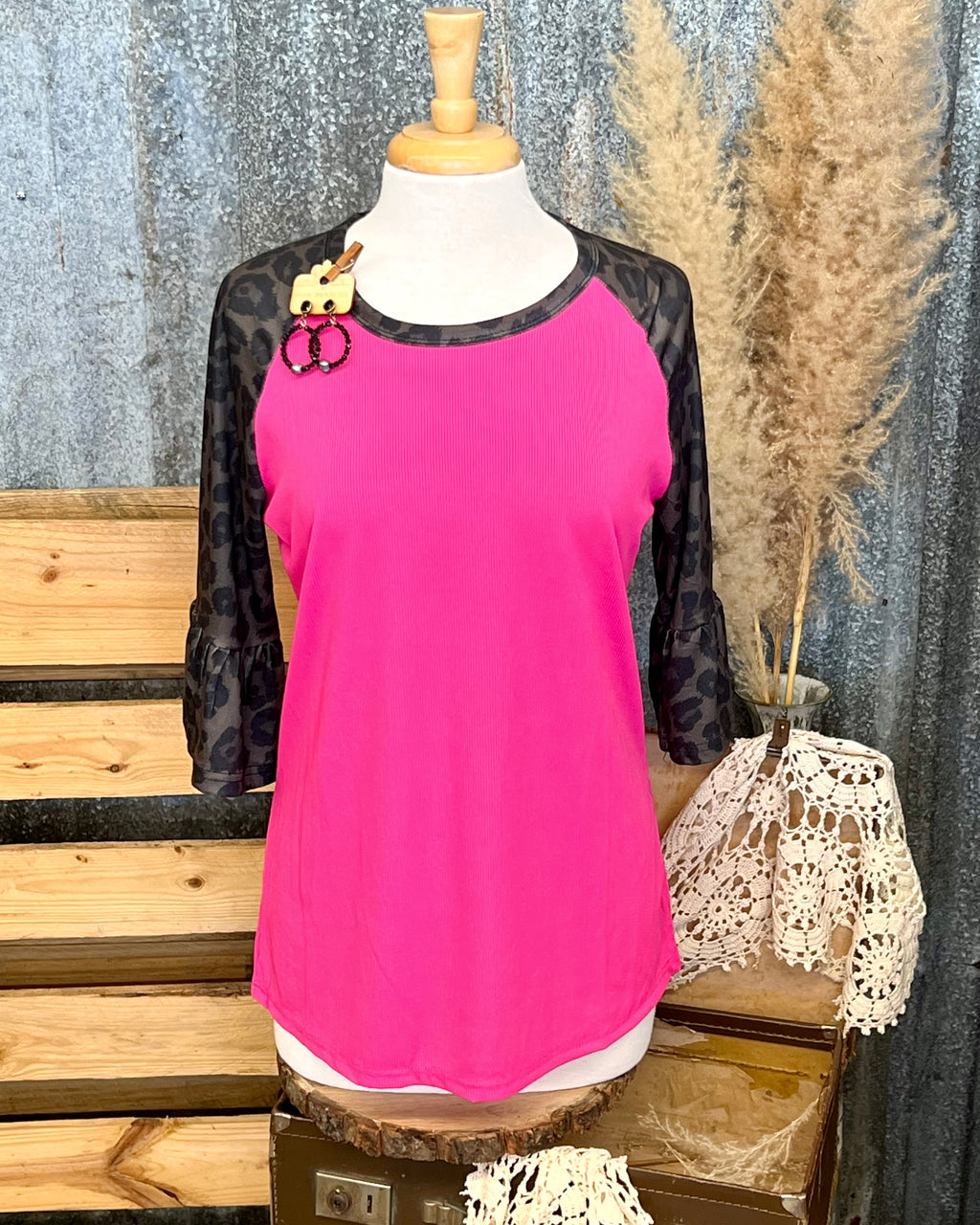 Rose twisted sweater