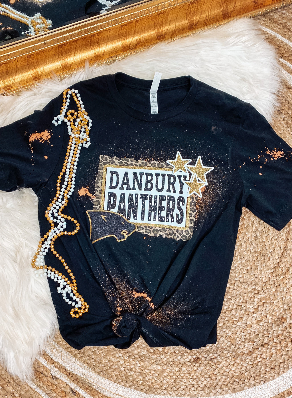 Danbury Panthers Bleached Tee