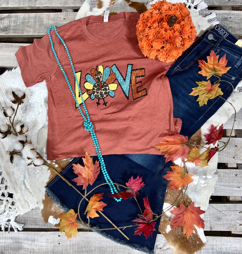 Ladies Turkey Love Tee