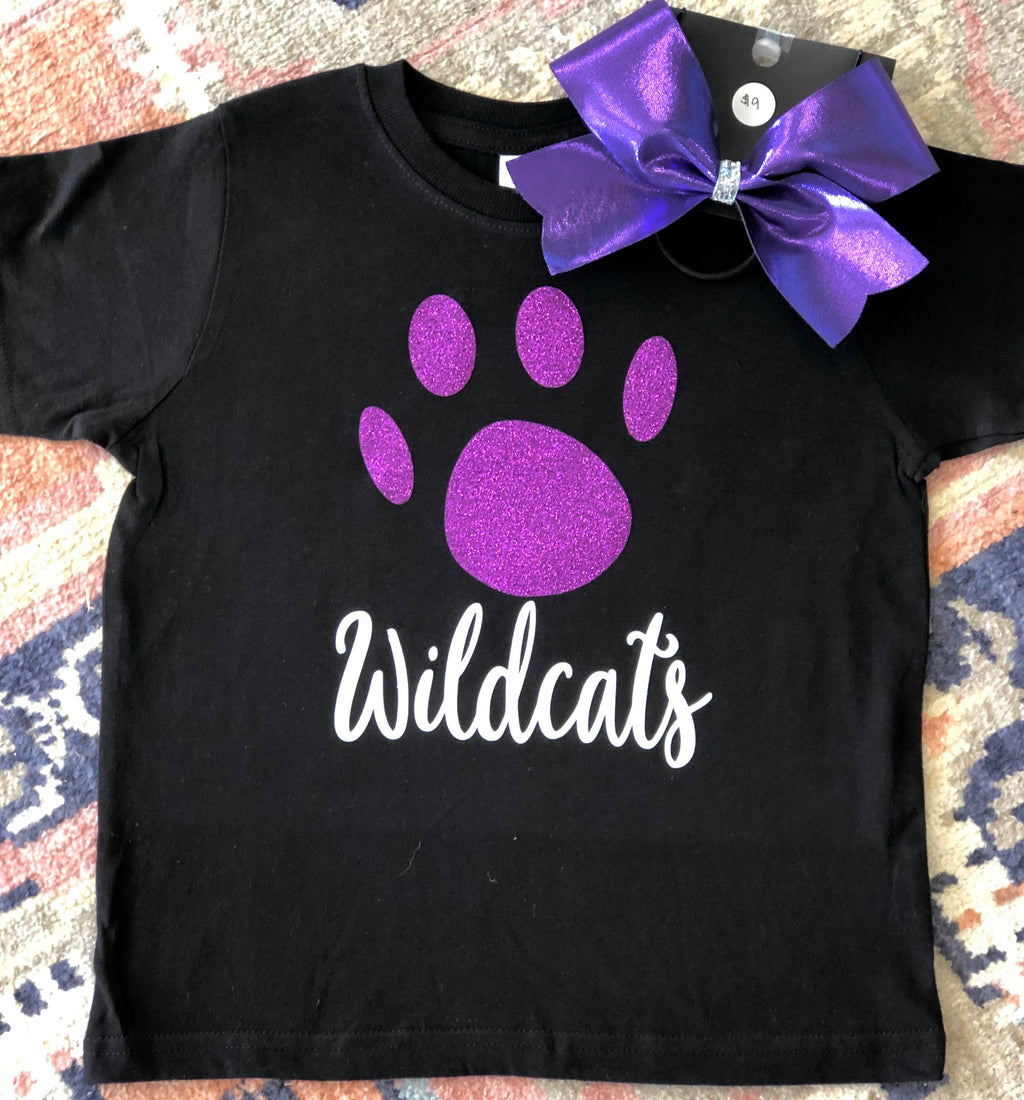 Girls Wildcats Tee
