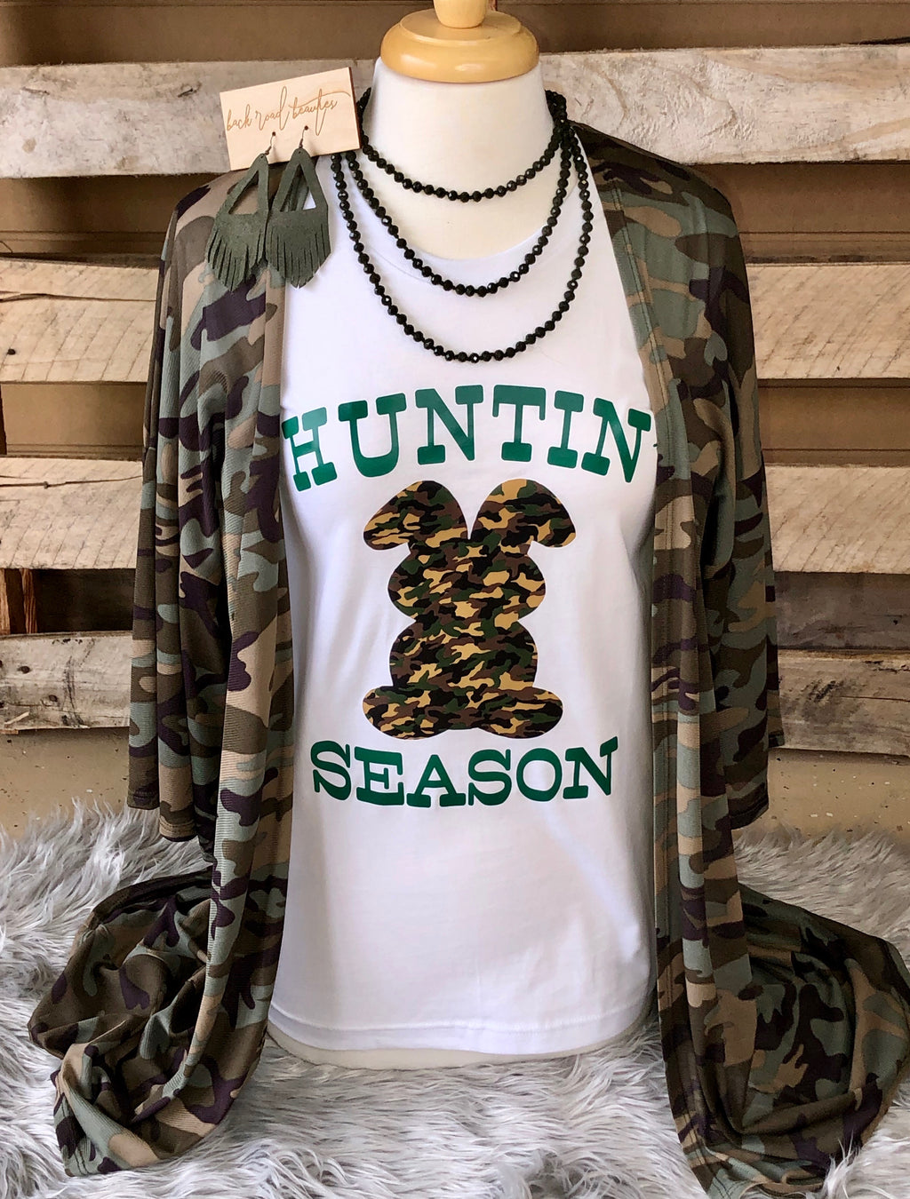 Ladies Huntin Season Tee