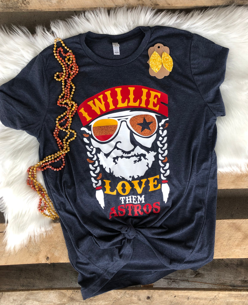 Willie Love them Astros tee
