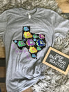 Neon Texas School Spirit Tee
