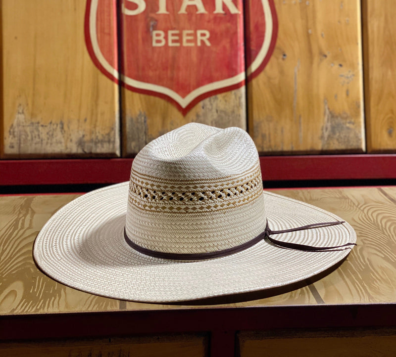 Atwood Dalhart Open Straw Hat