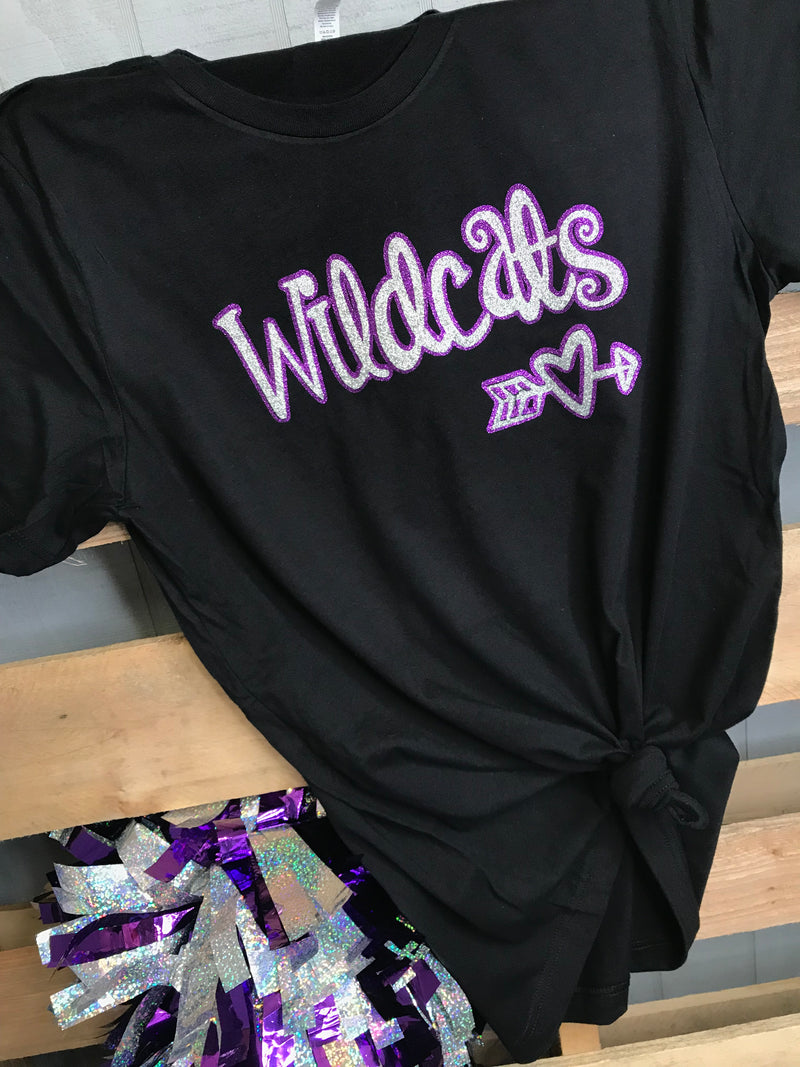Wildcats Heart Tee