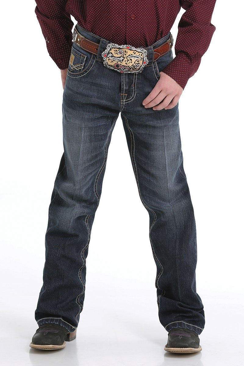 Boys Cinch Relaxed Fit Dk Wash Jean