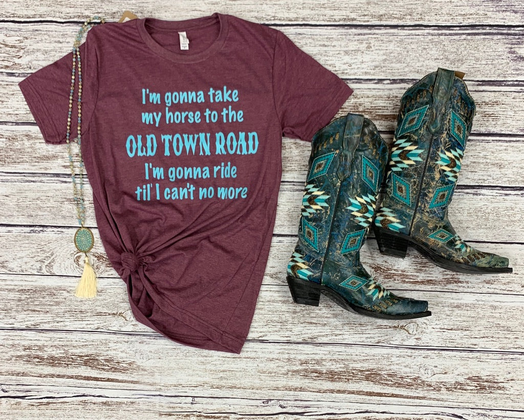 Old Town Road Tee