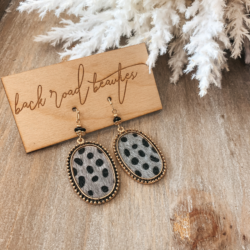 Crazy About Spots Earring