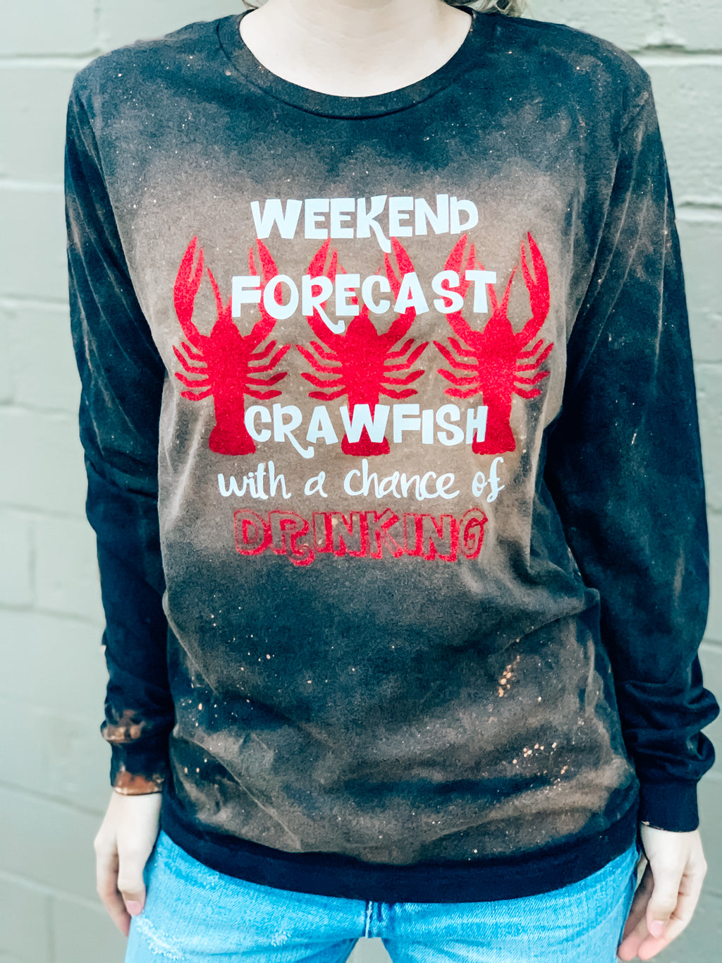 Crawfish Forecast LS Tee