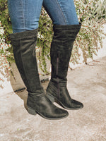Black Ladder Boot