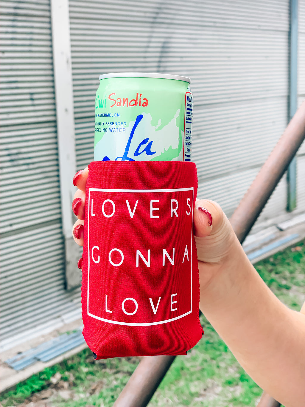 Lovers Gonna Love Koozie