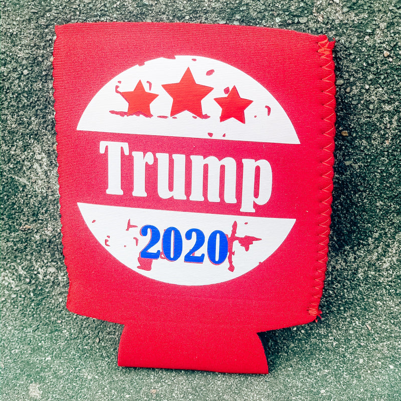 TRUMP 2020 Circle Koozie