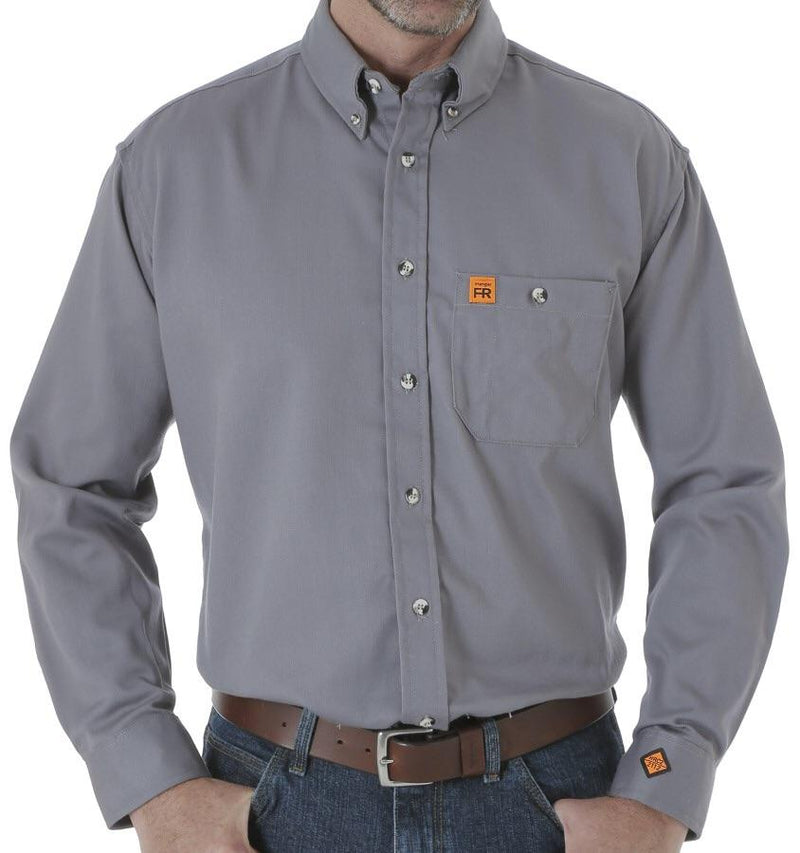 Men's Riggs Grey FR Solid Shirt