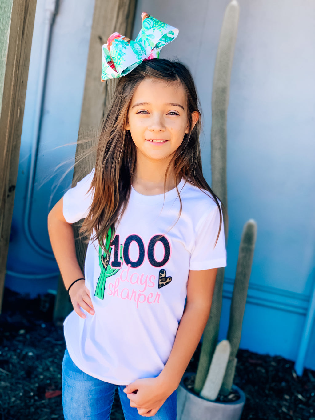 100 Days Sharper Kids Tee